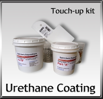 Urethane Coating Touch up kit