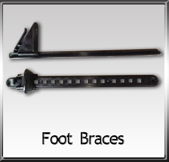 Keepers Kayak Foot Braces