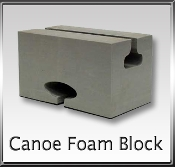 Canoe Foam Block