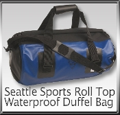 Seattle Sports Roll top Dry Duffle Bag