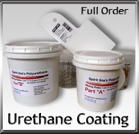 2 Part Urethane Coating for Kayak Skin